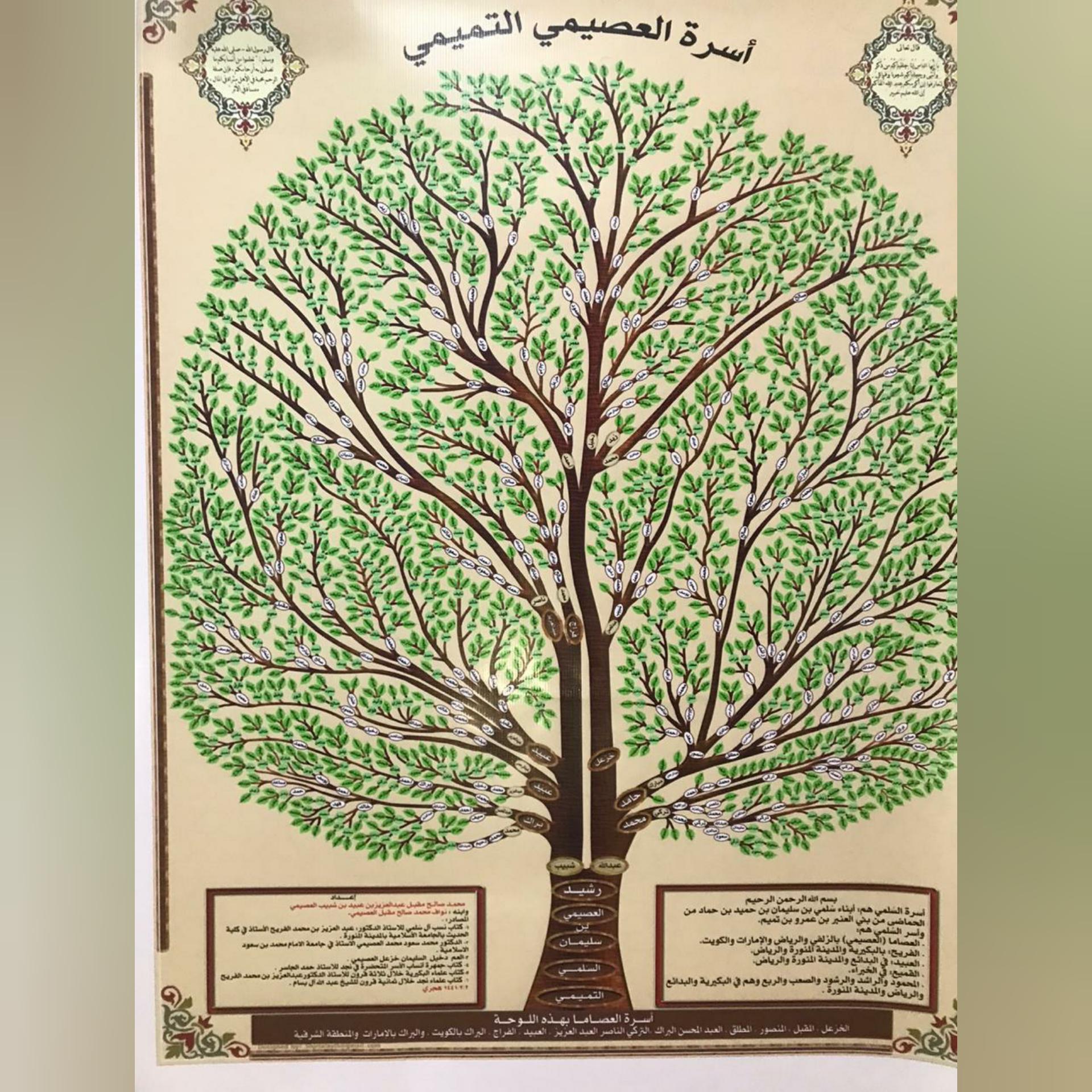 مشجرة اسرة العصيمي