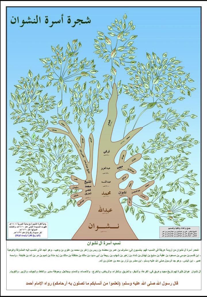 مشجرة أسرة النشوان