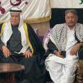 صورة الشيخ محمد باقر وشيخ بني تميم في باكستان